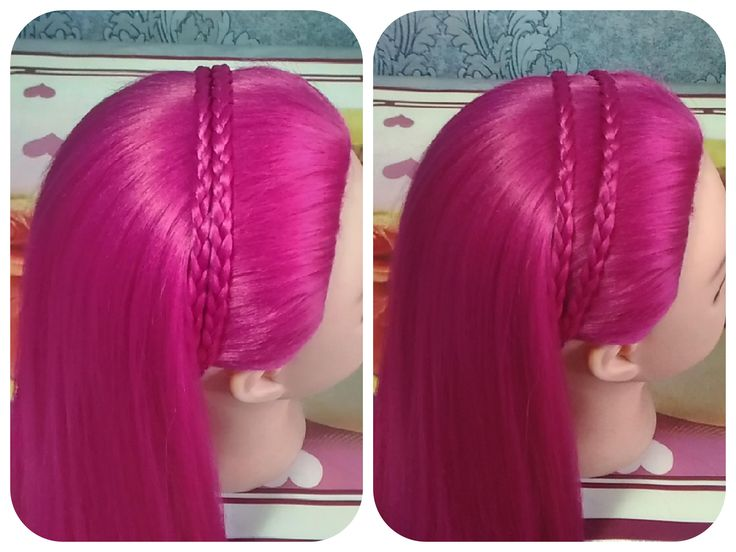 Double Braid Headband hairstyle in 2 minutes/Двойная коса ободок. Прическа за 2 мин  https://www.youtube.com/watch?v=WldQdvTd08k