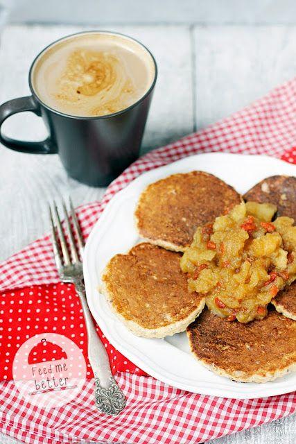 Feed Me Better: Dietetyczne placki jaglane (z kaszy jaglanej).