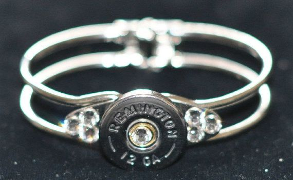 Remington  12 Gauge Shotgun Shell  Nickel by OnTargetJewelry