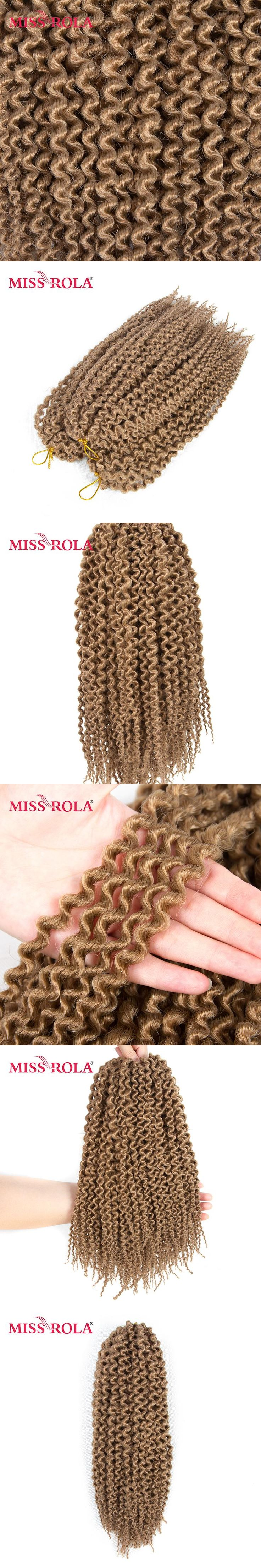 Miss Rola 27# Havana Twist Braids Hair 28roots/pack Kanekalon Low Temperature Synthetic Hair Extensions for Black Women