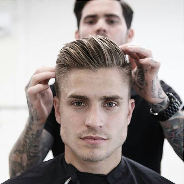 Hairstyle for men! Classic undercut w/ long top!