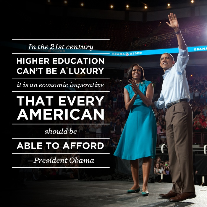 Stand with President Obama to make college more affordable