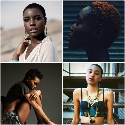 Here is some inspiration for the ladies who want to do the big chop but might be scared.