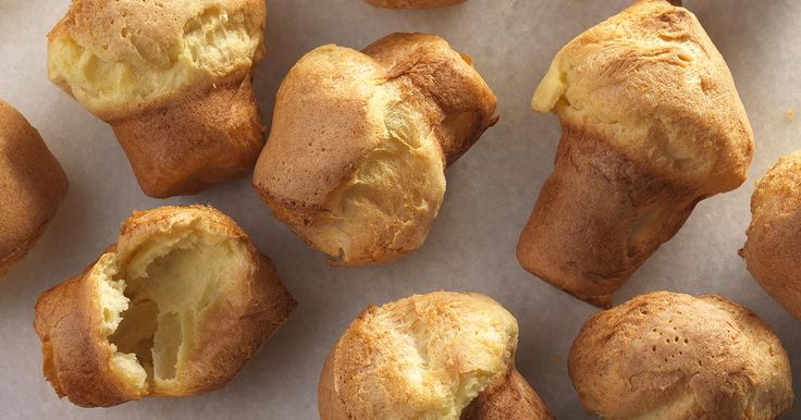 Light, airy, buttery popovers - and they're gluten-free.