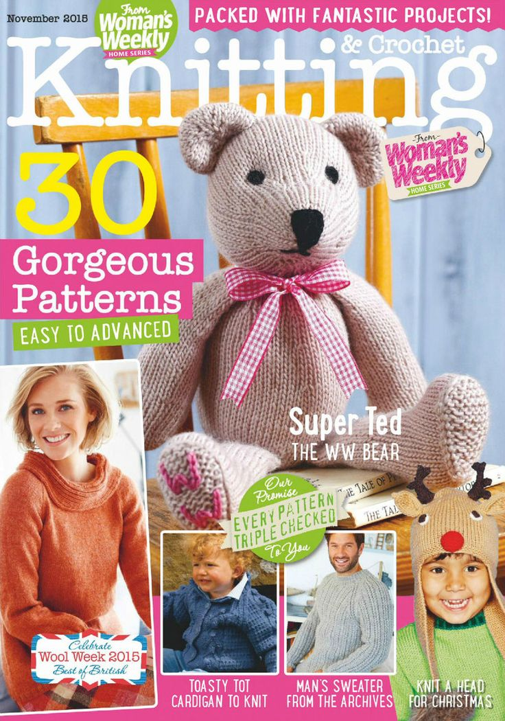 Knitting And Crochet Magazine : Best crochet knitting craft books and magazines