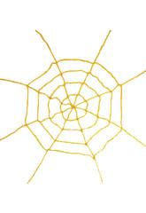 Tela de araña amarilla