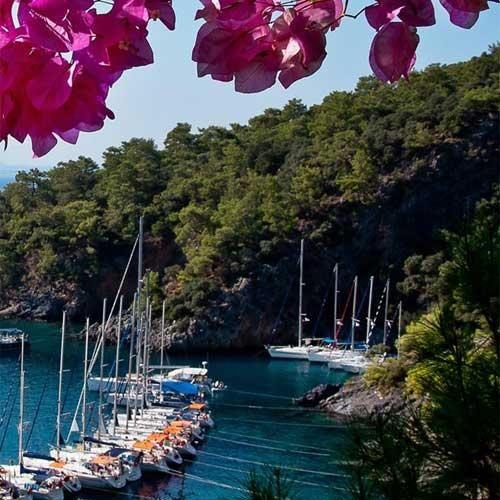 Flottielje zeilen Turkije, Lycische Kust (Göcek) - Zelf Zeilen