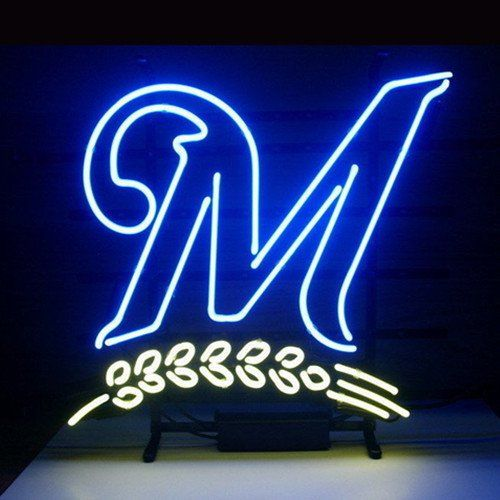 Milwaukee Brewers Neon Light