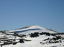 Mount Kosciuszko is a mountain located in the Snowy Mountains in Kosciuszko National Park, New South Wales. With a height of 2,228 metres (7,310 ft) above sea level, it is the highest mountain on the Australian continent (i.e., not including its external territories).