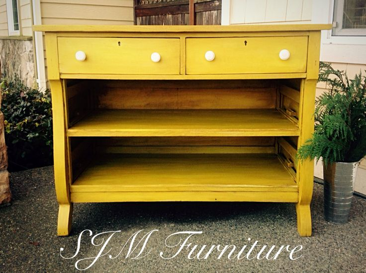 17 best ideas about Yellow Chalk Paint on Pinterest