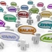 Diversity : Muchas personas de diferentes culturas decir la palabra hola en sus lenguas nativas