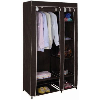 Temporary wardrobe