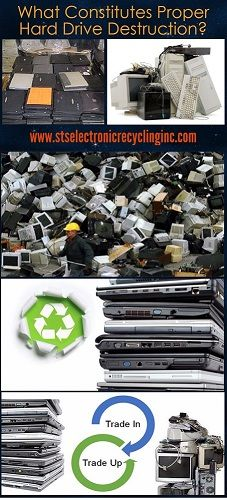 Hard drive destruction is an essential part of computer recycling. If, for example, your computer has become obsolete and you want to dispose of it, it is not safe to dump it at landfill sites due to the possible hazard they can introduce to the environment.  http://www.stselectronicrecyclinginc.com