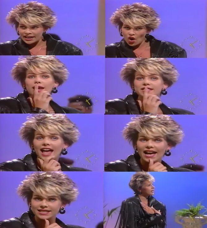 CC.Catch - Like A Hurricane (Live Spain 1988)