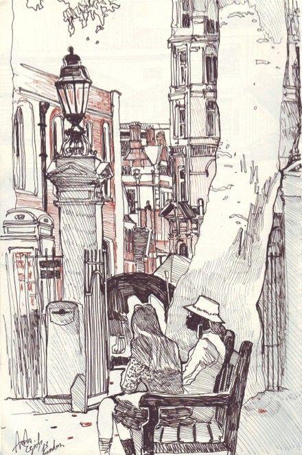 Для меня эта тихая улица - воплощение Лондона. Но кто-то со мной может не согласиться. У меня не было мечты посетить Париж, а вот Лондон... Англию я всегда считала…