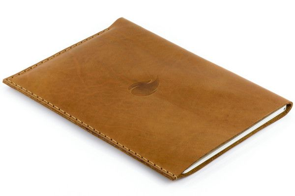 12 inch MacBook Leather Sleeve, Brown Collection