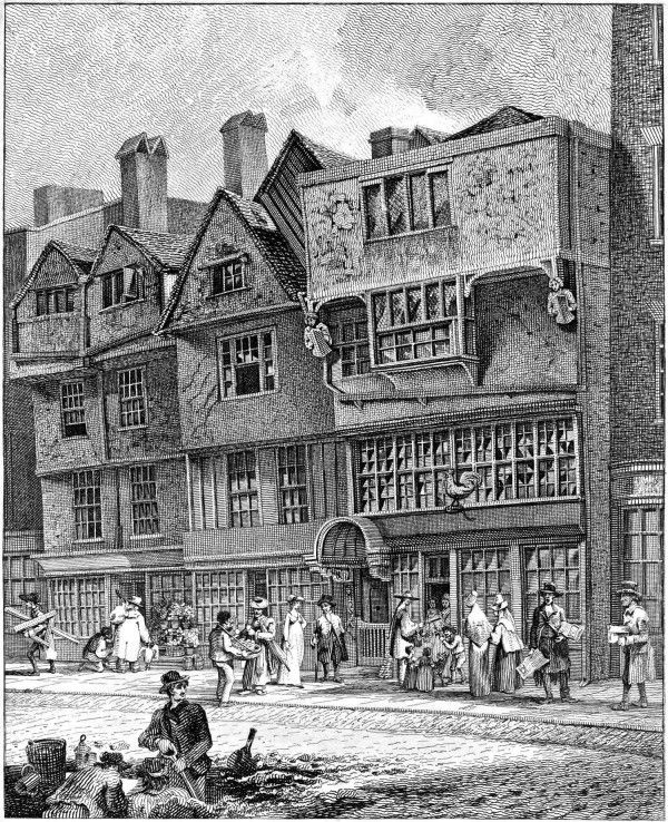Houses in Leadenhall St – Drawn July 1796