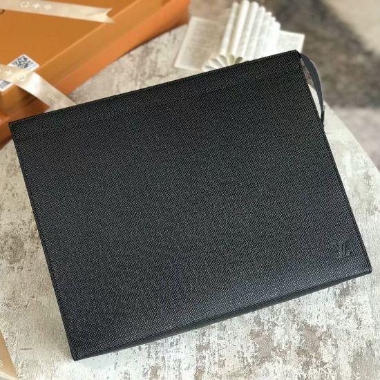 740c0a3e035e Louis Vuitton Taiga leather Pochette Voyage GM M30043