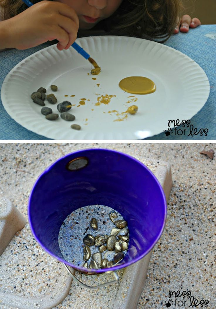 Get a little dirty with a gold rush activity kids will love!