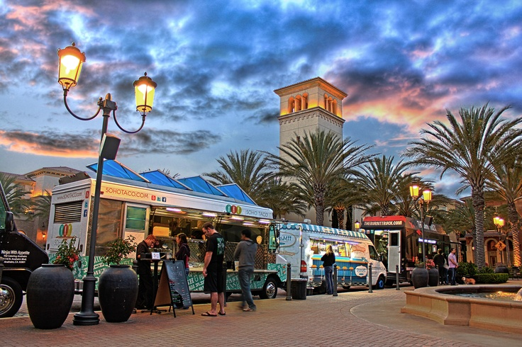 Irvine Spectrum Food Trucks