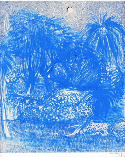 Brett Whiteley Staring at the Garden After Looking At The Sun for a Minute