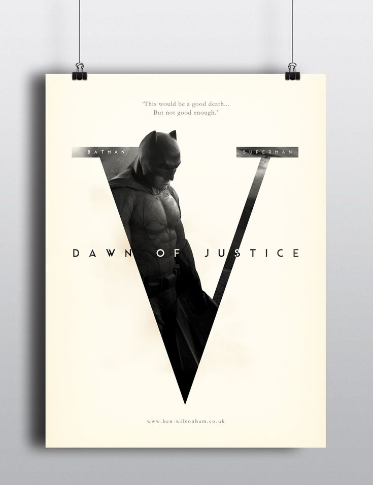 Ben Wilsonham - Can't wait for this Film!! Quick poster design for...