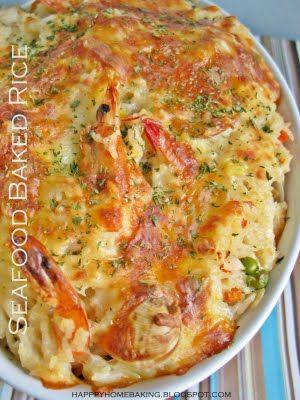 Happy Home Baking: One-Dish Wonder Seafood Casserole