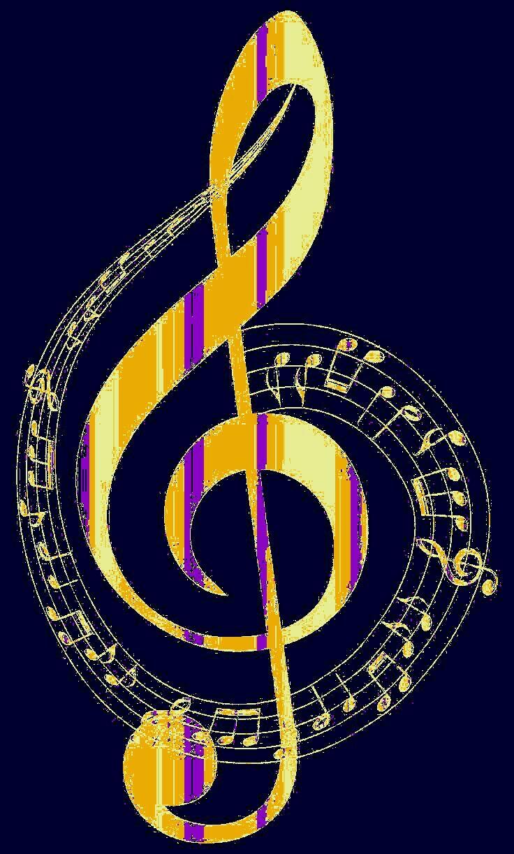 картинка скрипичный ключ в круге первый раз хотите
