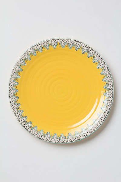 Anthropologie - Minaret Dinner Plate on Wanelo