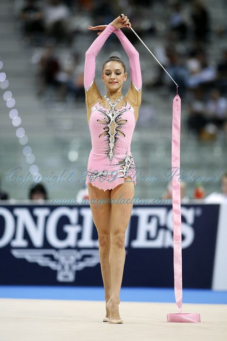 Evgenija Kanaeva Nickname: Queen of the Olympic Games Setting: Olympic Games Beijing 2008