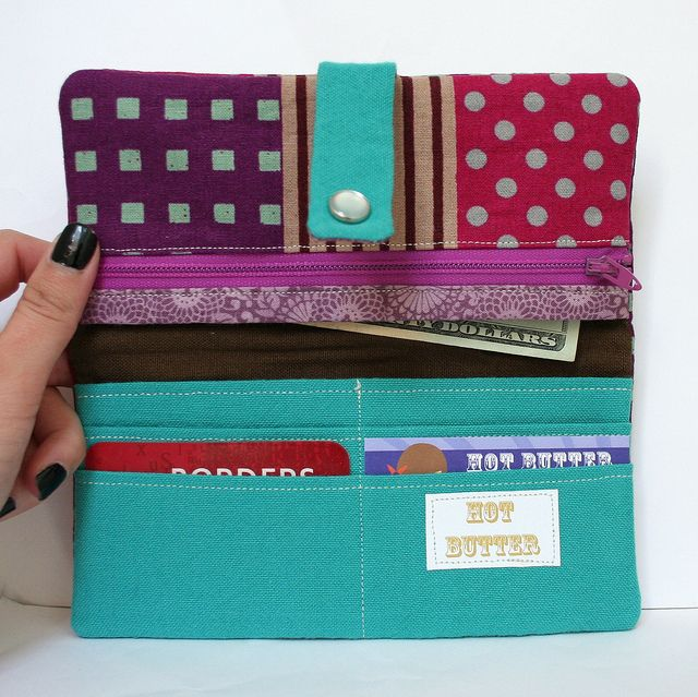 Wallet- sewing project