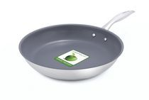 "Green+Life 12"" Healthy Ceramic Non-Stick Fry Pan"