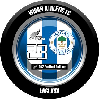 DNZ Football Buttons: Wigan Athletic FC