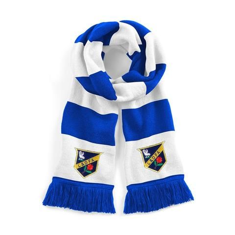 Everton 1886 Traditional Football Scarf Embroidered Logo
