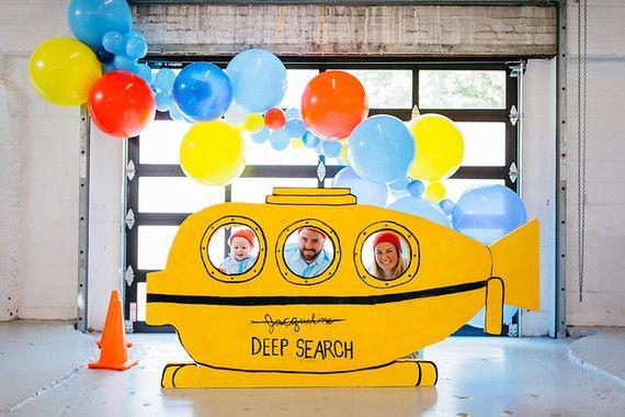 The Life Aquatic first birthday | Boys birthday party ideas | 100 Layer Cakelet