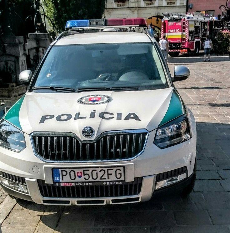 Skoda Yeti Police car
