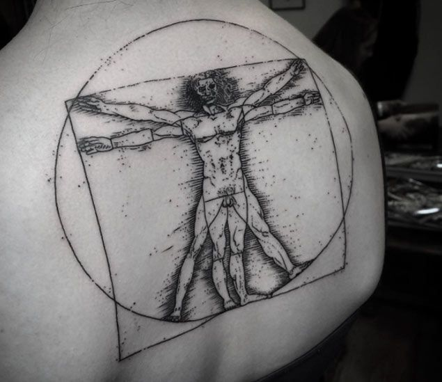 Vitruvian Man by Noksi