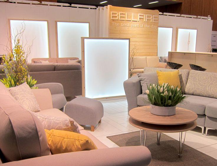Stockholm Furniture Fair. Suunnittelu: Sisustusarkkitehti Marjut Nousiainen.