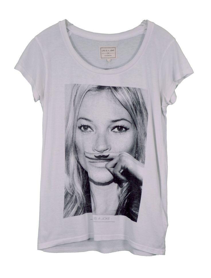 "♥ ELEVEN PARIS ♥ T-SHIRT FEMME ""KATE MOSS"" T. 36/38 via LES COCOTTES. Click on the image to see more!"