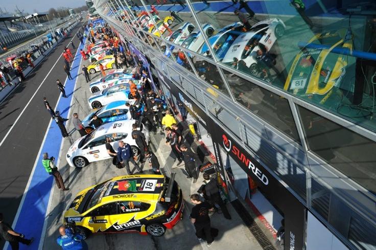 Monza Pit Lane
