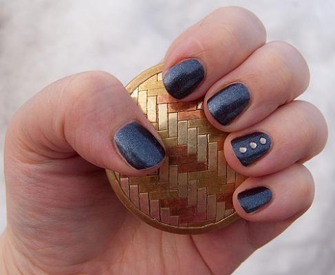 Stylish Crystal Manicure Nails