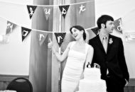 an article on one couples simplistic wedding and how they met their budget and still enjoyed their wedding for $4000