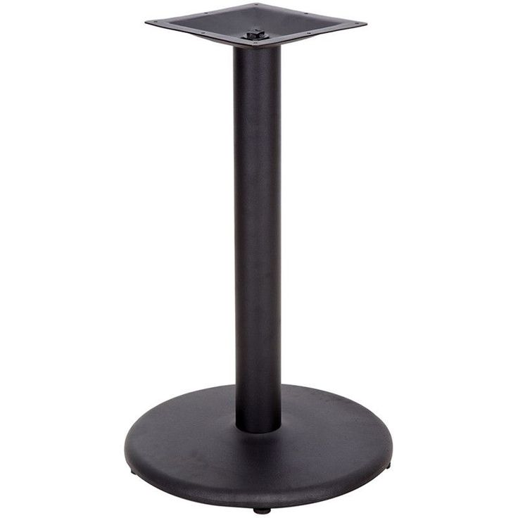 Round Restaurant Table Base with Table Height Column