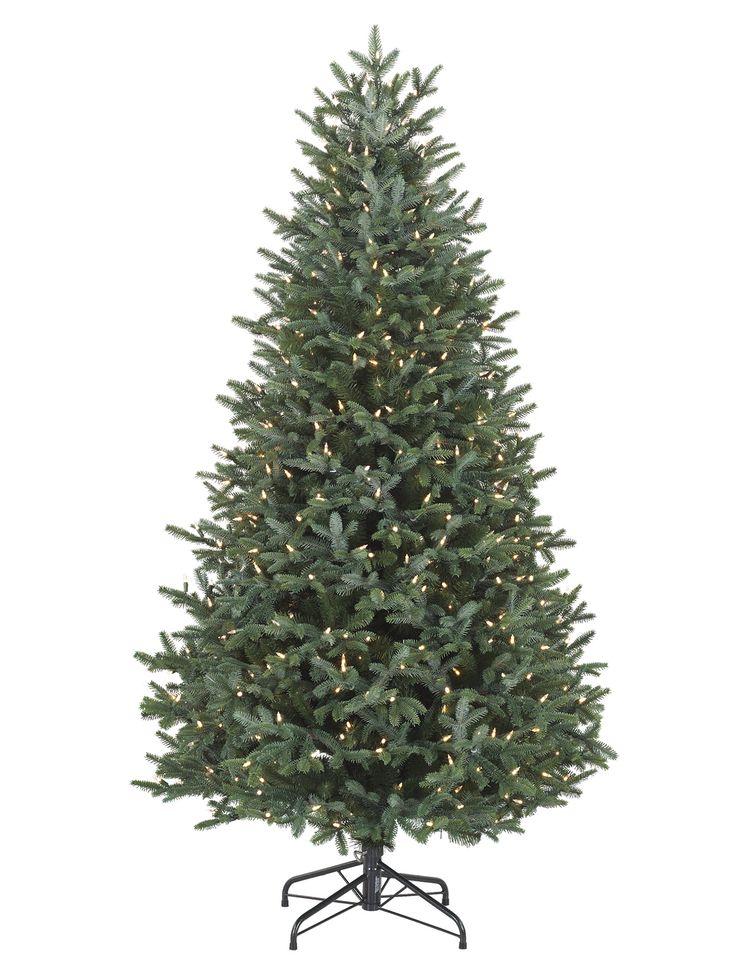 European Silver Fir Artificial Christmas Tree - Balsam ...