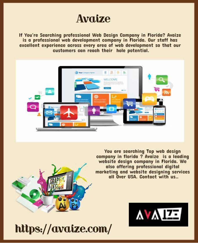 Professional Web Design Company In Florida Web Design Web Design Company Professional Web Design