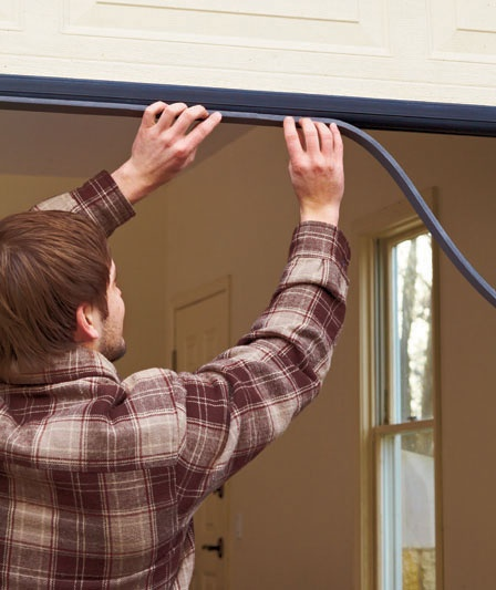 A handy homeowner can seal up holes to the outside by weather-stripping doors and sealing windows and gaps along the home\u0027s ... & 78 best Weather stripping images on Pinterest | Weather Energy ... Pezcame.Com