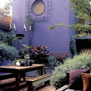 Brendan Moar designed garden from the book Grounded