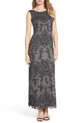 115ccda86bd29 PISARRO NIGHTS Designer Embellished Mesh Gown | Avivey (Style Lives ...