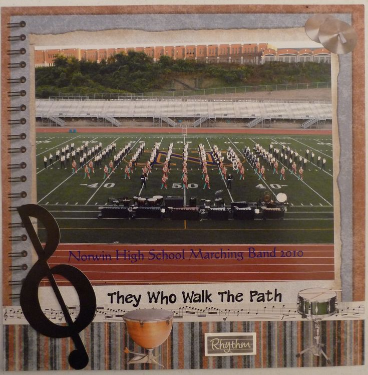 Marching band 10th grade scrapbook com