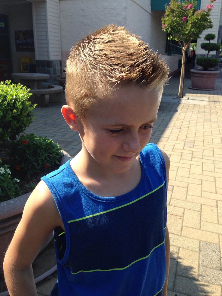Boys Front Faux Hawk Short Hair For Boys Boy Haircuts